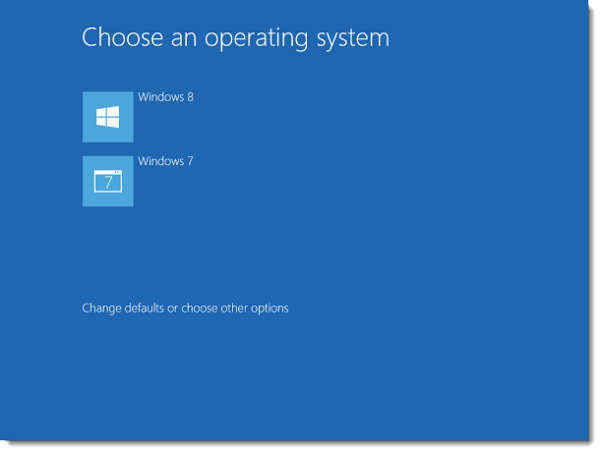 Dual boot, windows 7 and windows 8, make dual boot faster