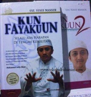 buku kun fayakun dari ust Yusuf Mansur
