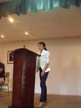 Mariluz Ocaña Trujillo, jura el cargo de vocal
