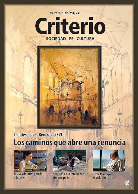CRITERIO-REVISTA-PORTADA-RELIGION-VATICANO-PINTURA-CAPILLA SIXTINA-PINTOR-ERNEST DESCALS