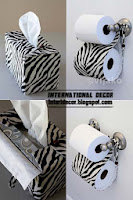 The best zebra print decor ideas for interior designs for Bathroom ideas zebra print