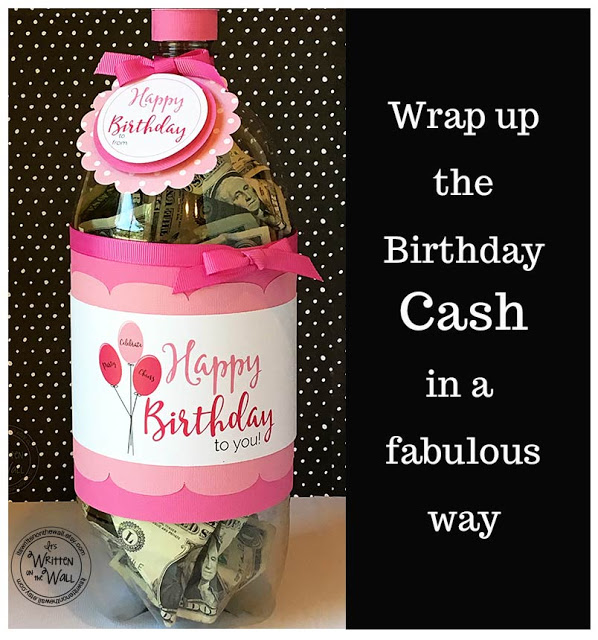 Birthday Cash All Wrapped Up!