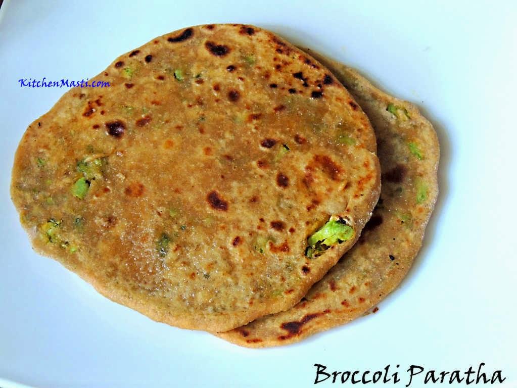 brocolli paratha