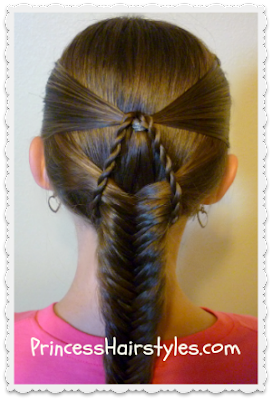 Cute Fishtail Braid Hairstyle Tutorial