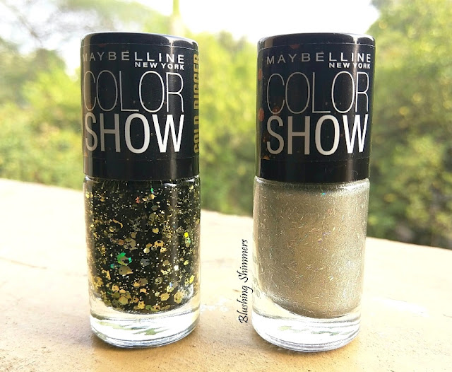 Maybelline Colorshow Nail Paints Gold Digger Colection : Bling Thing ,Gold-Me-Baby