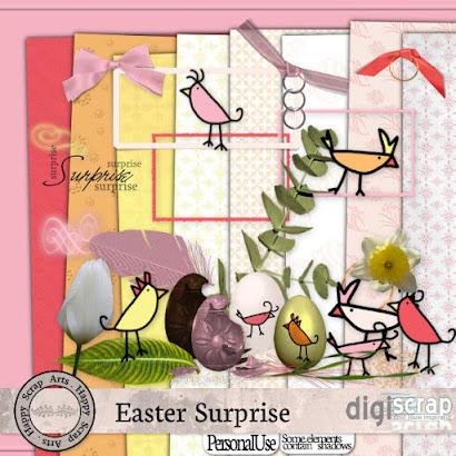 Happy Scrap Arts ::  Easter Surprises , deze is van DigiScrap