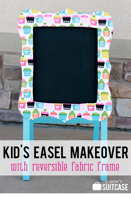 kid art easel