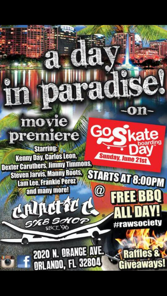 National Go Skateboarding Day Orlando Florida