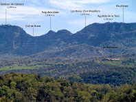 Aproximació fotogràfica a la zona central de Cabrera