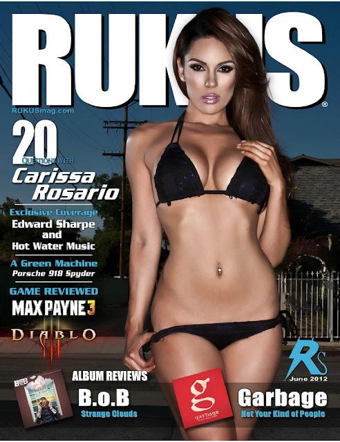 Sexy pictures of Carissa Rosario in Rukus magazine