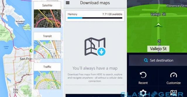 "Nokia HERE Map ""cập bến"" các smartphone Galaxy"