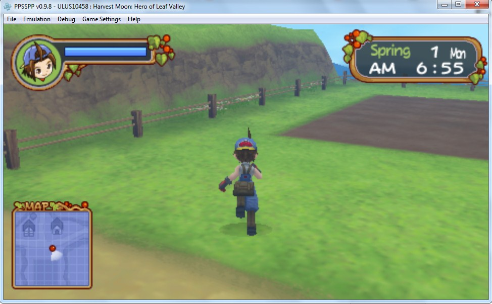 Harvest Moon Hero Of Leaf Valley For PC (US)