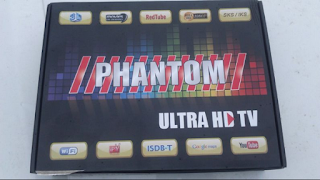 Especificação Phantom Ultra HD TV