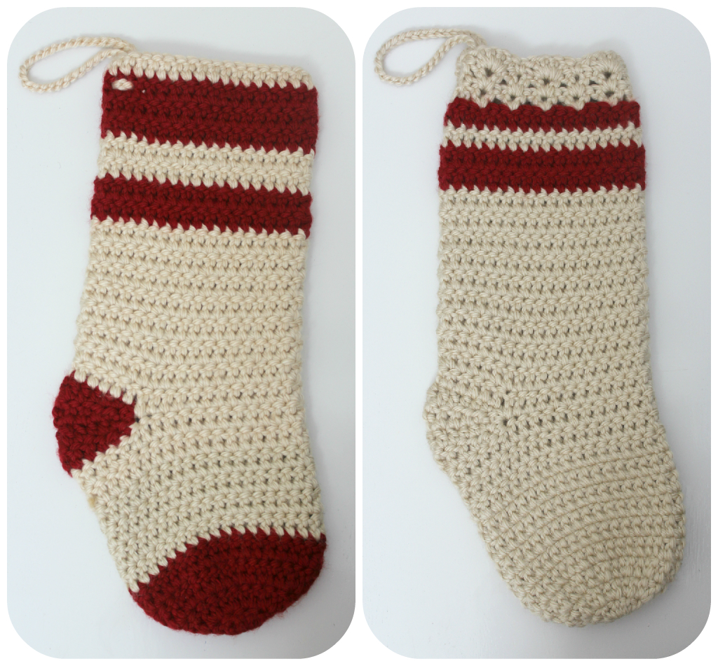 Crochet Xmas Stocking : Love City: crochet love {Christmas Stockings}