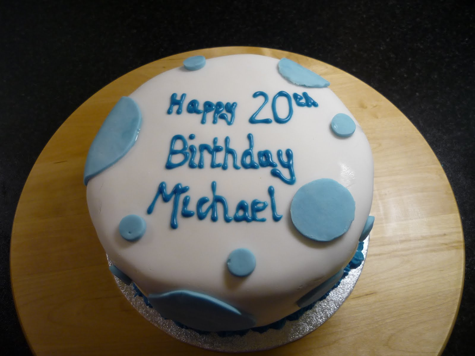 Birthday Cake Images Michael : The Bakehouse: Michael s Birthday cake...