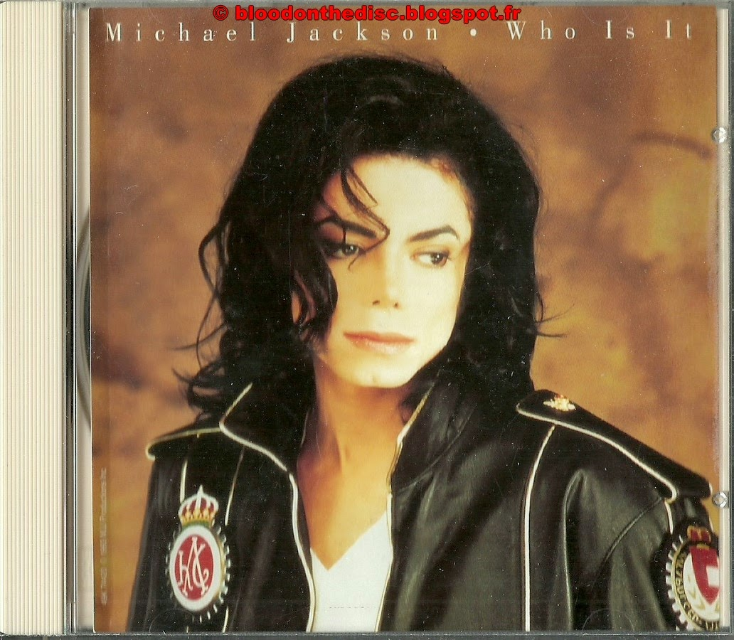 Who Is It Maxi CD Front Cover