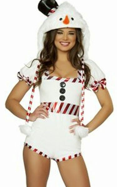 Valentine Frosty Snow Girl Pin Up Holiday Romper