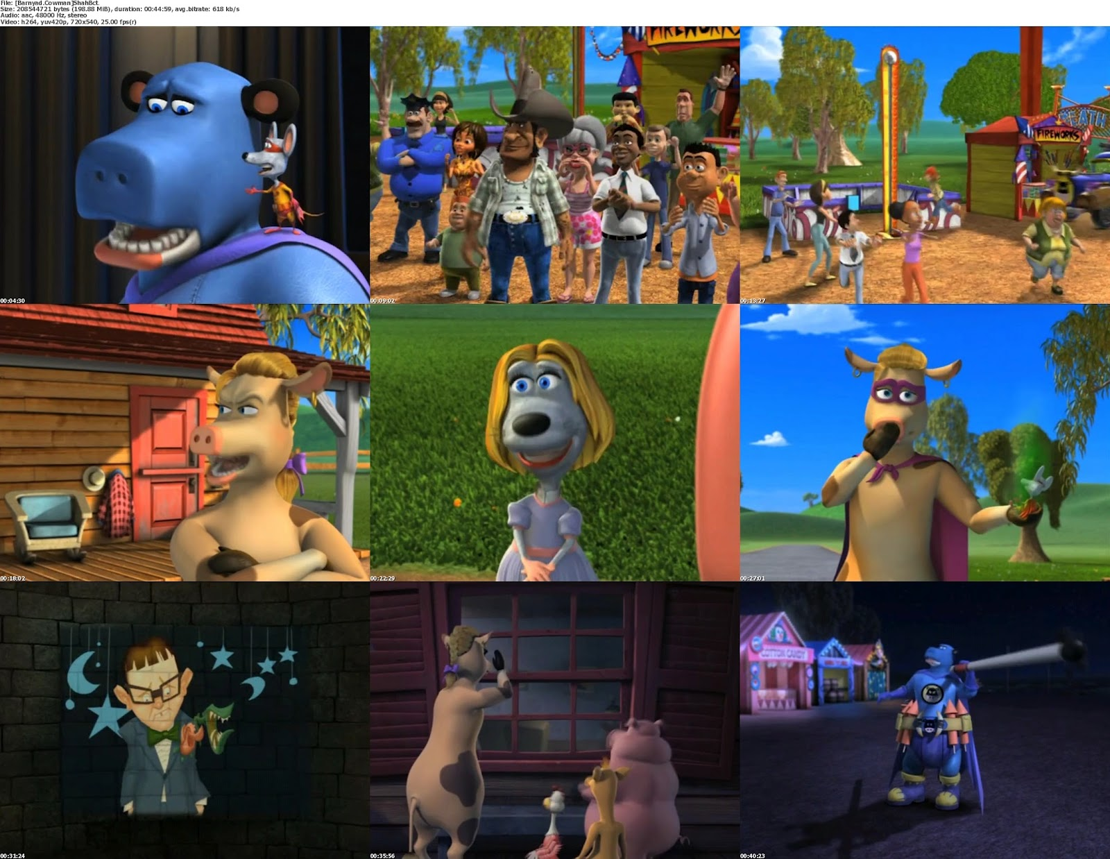 Download Back At The Barnyard Movie