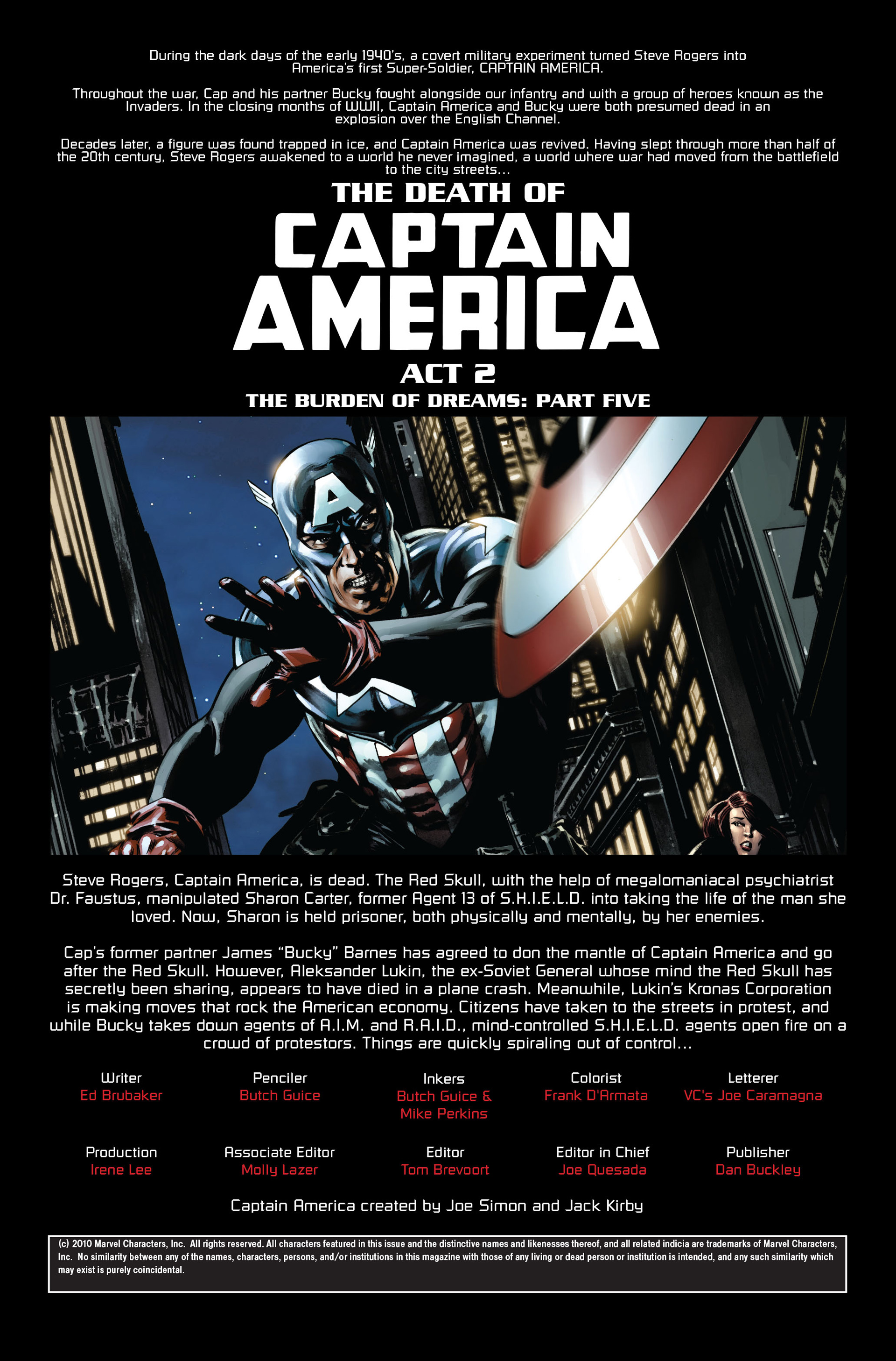 Captain America (2005) Issue #35 #35 - English 2