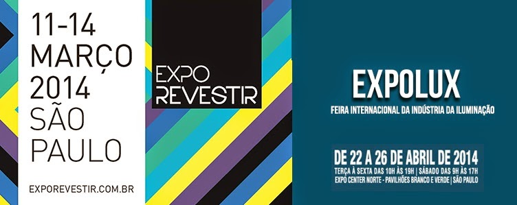 Expo Revestir 2014 e Expolux 2014