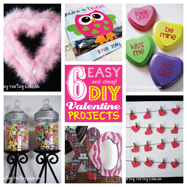 6 Valentine Projects Under $5