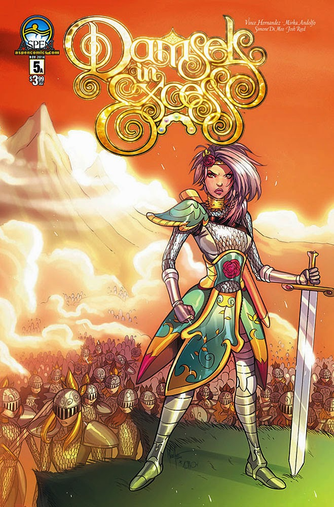 Aspen Comics Solicitations for November 2014