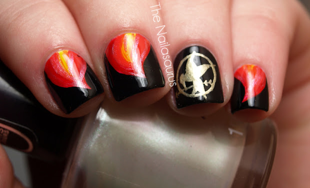 nails fire hunger games