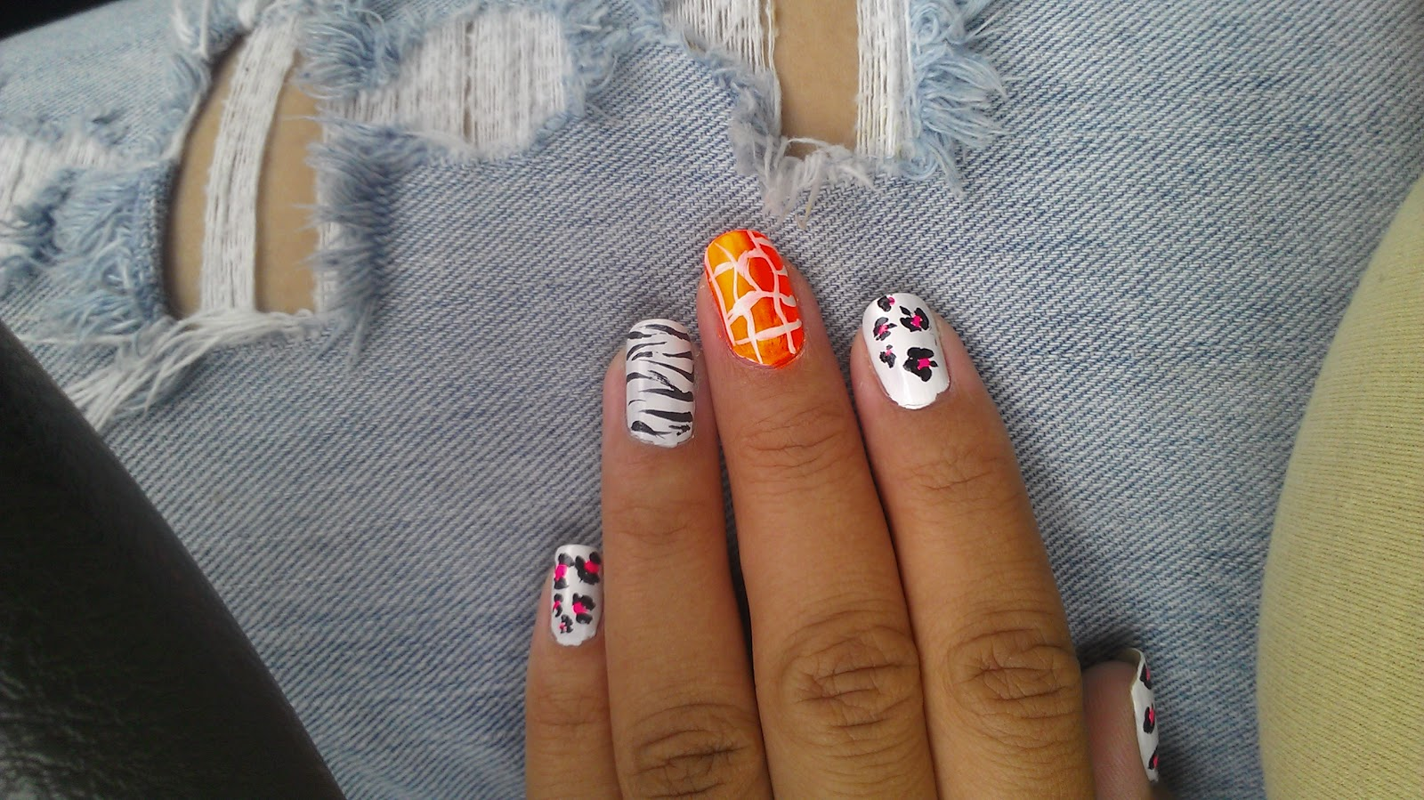 doityourself nail art amp designs cute animal print nail