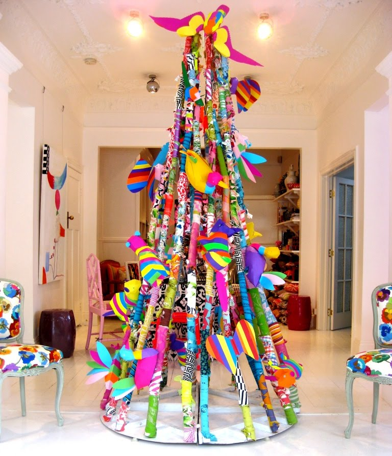 The Bloomin' Couch: Funky Christmas Trees!!