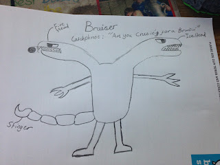 Bruiser - by Kian age 12