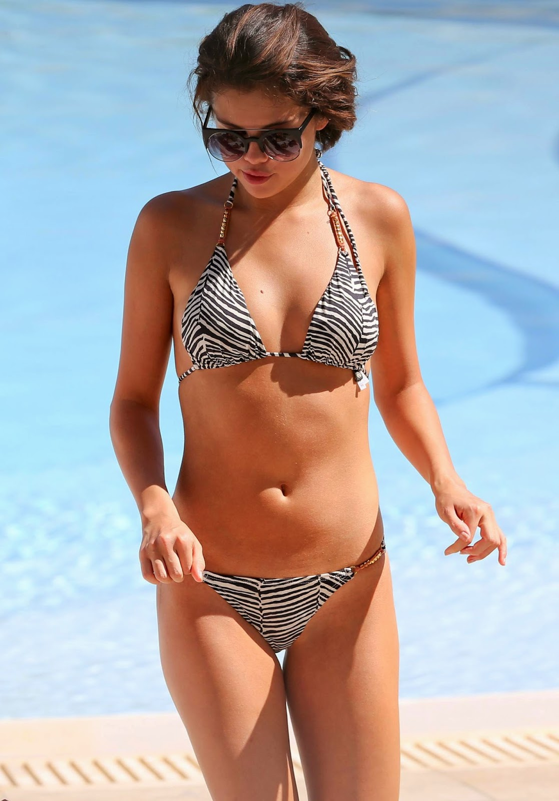 Selena Gomez In Miami