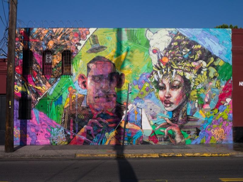 Melroseandfairfax david choe x aryz for David choe mural