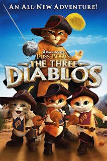 El gato con botas: Los tres diablos Poster