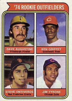 Dave Augustine 1974 baseball card