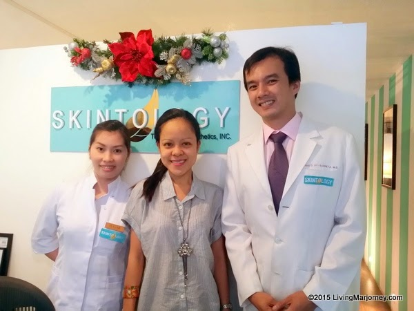 Pampering The Woman In Me / Skintology Clinic via www.LivingMarjorney.com