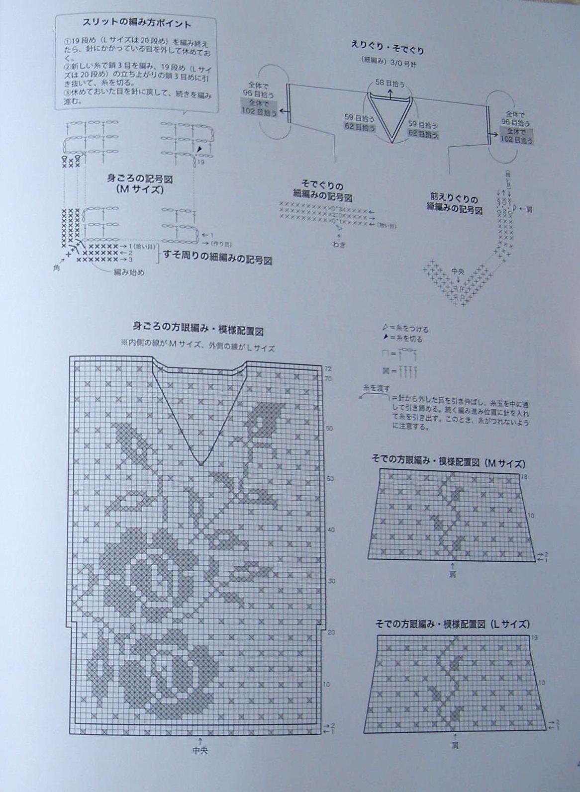Туника вдохновение филейное вязание 79