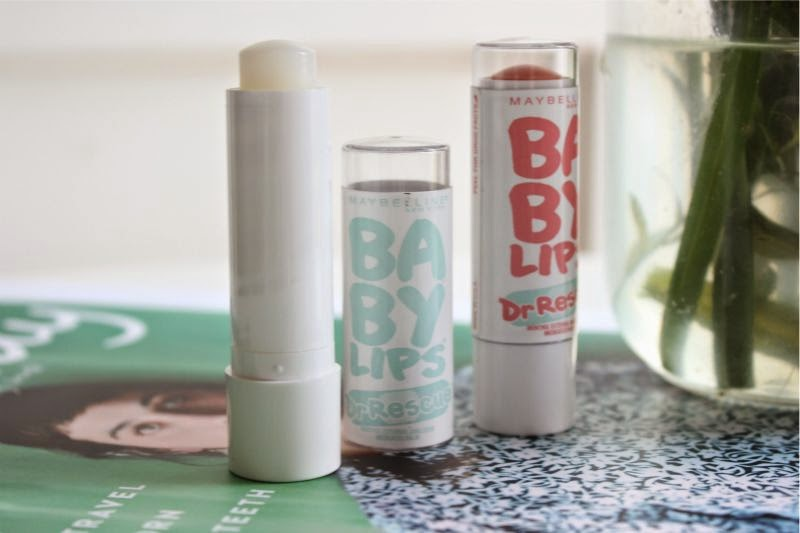 Maybelline Baby Dr Rescue Lip Balms UK