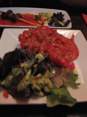 Tapas Barinn grilled sweet peppers