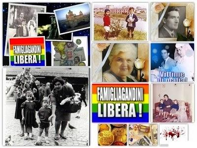 L'OMERTA' UCCIDE: L'OMERTA' DELLA GENTE HA UCCISO LA FAMIGLIA GANDINI di FERRARA!