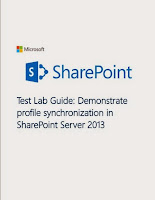 download Sharepoint 2013 Profile Synchronization Online free pdf file