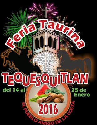 feria taurina tequesquitlan 2016