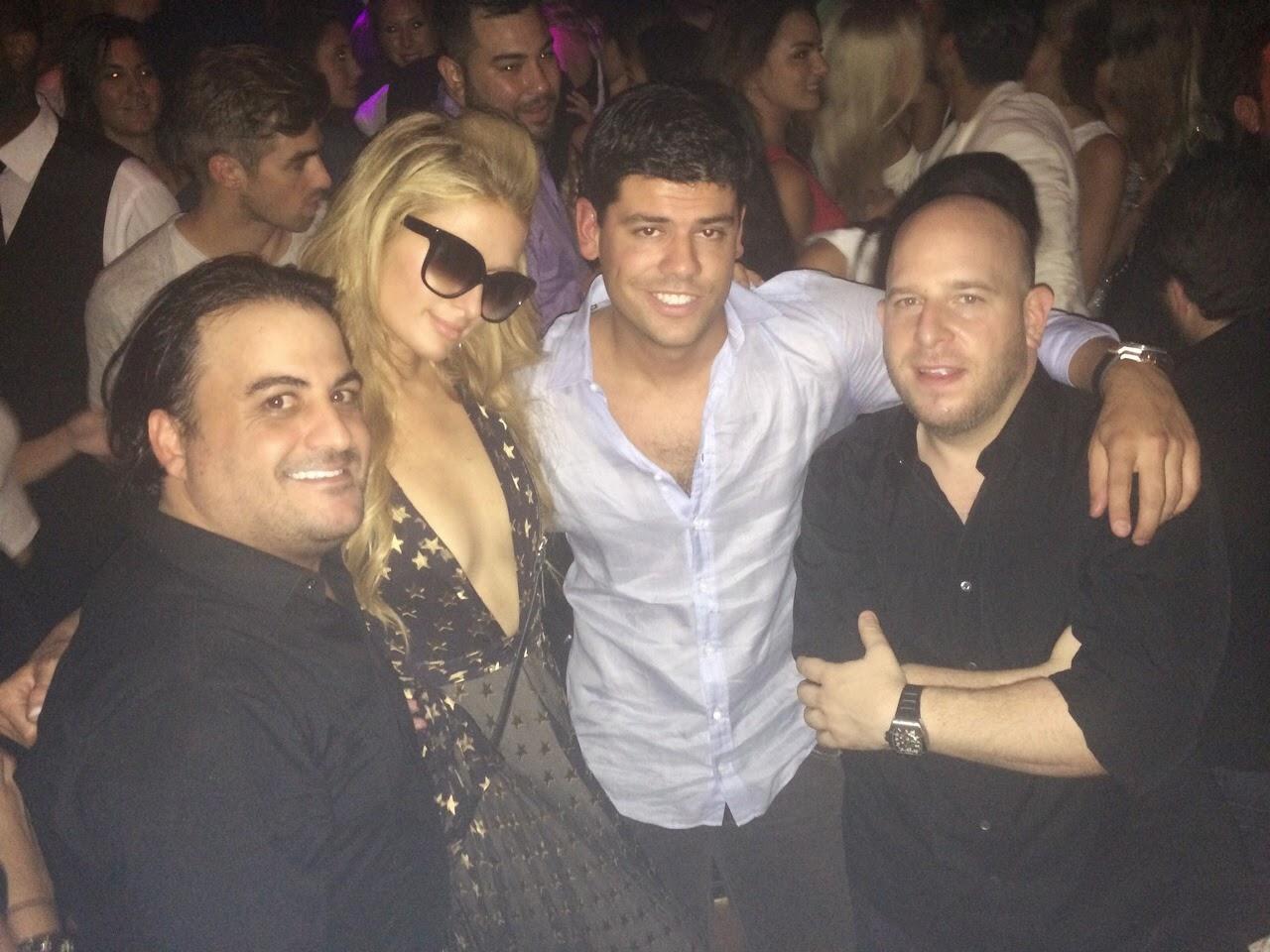 Paris Hilton y Salvador Lairet
