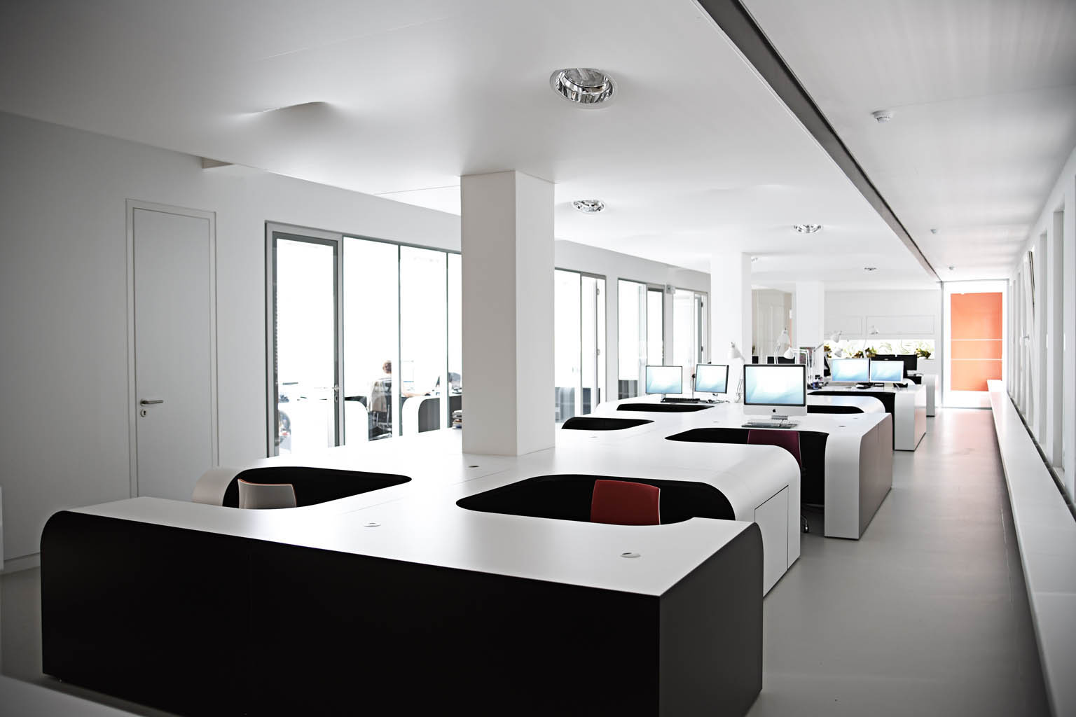 Eins Architekten office interior design syzygy expansion hamburg mitte eins