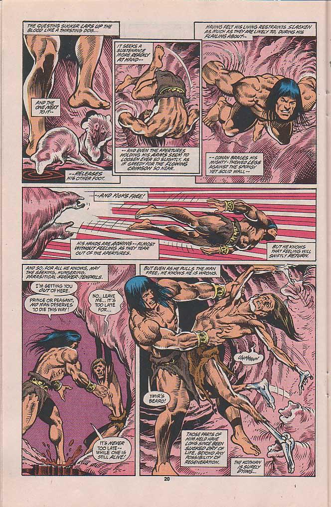 Conan the Barbarian (1970) Issue #253 #265 - English 17