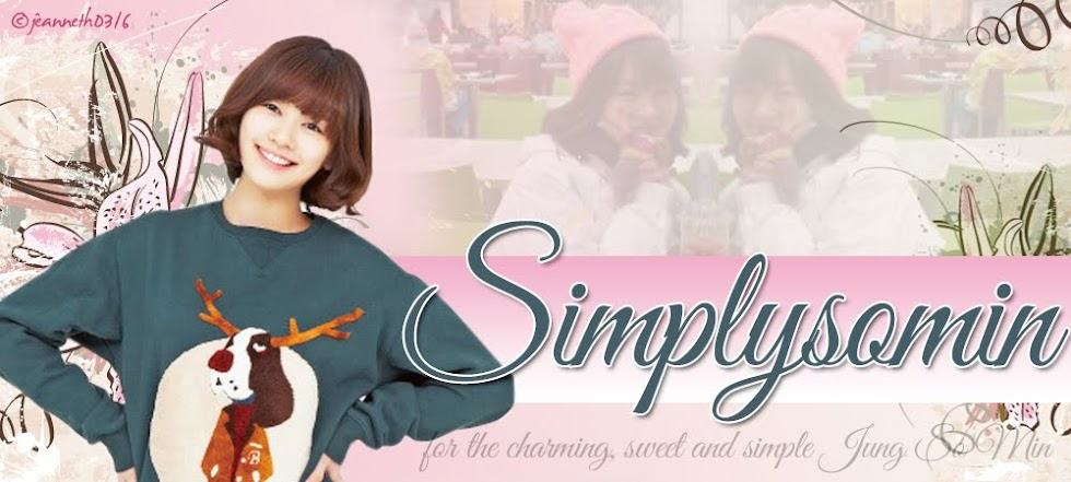 Simply... Jung So Min