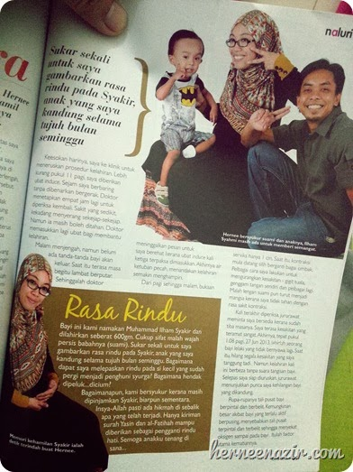 Featured in Majalah Ibu & Anak