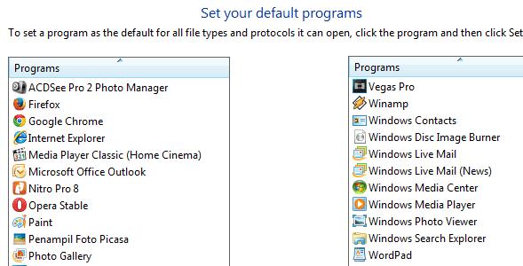 Cara Mengatur Program Default Saat Membuka File Pada Windows