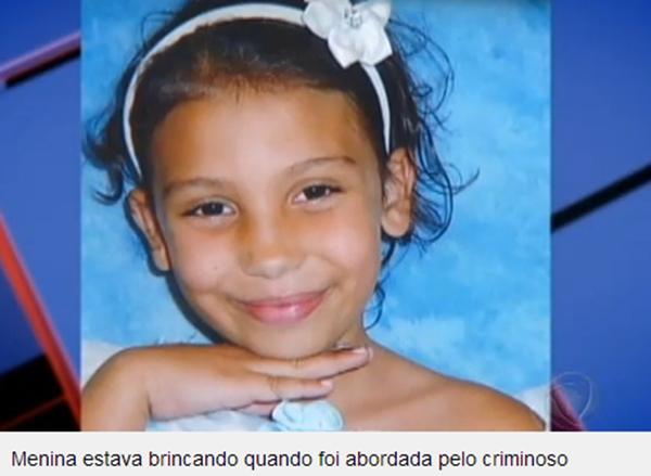 """webnews: Suspeito de estuprar e matar menina de oito anos """"n"""