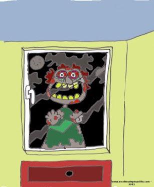 Una ventana a la añoranza. (Relato breve con ilustración original del autor).