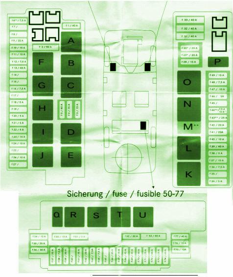 fuse box diagram mercedes benz 2001 s500